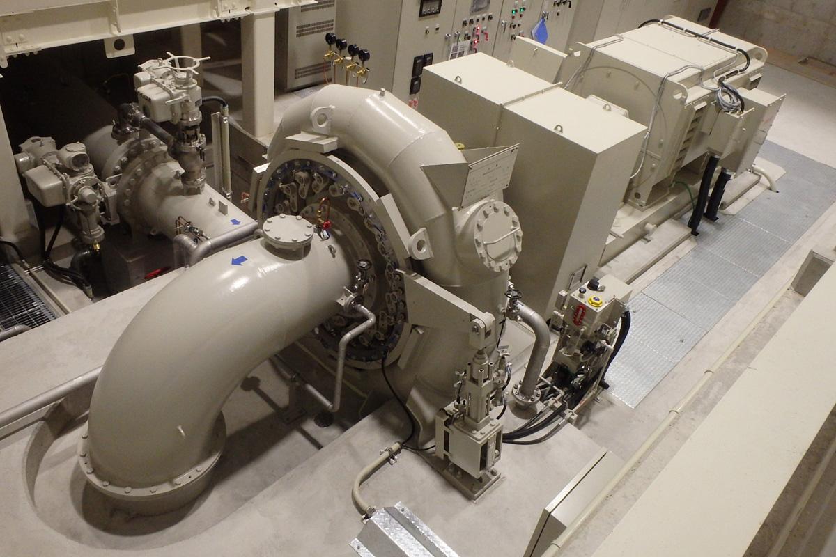 2号機 重久発電所